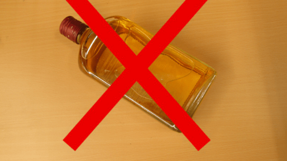 No Alcohol For Allergies