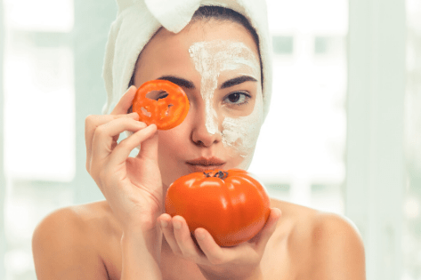 Benefit Of Tomatoes For Healthy Skin