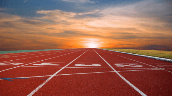 Track For Sprint Training