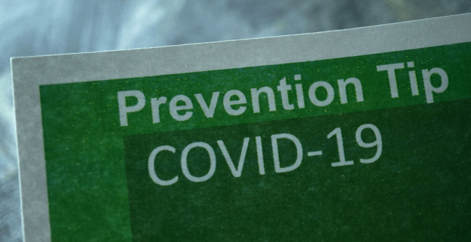 A Potential Way To Prevent COVID 19
