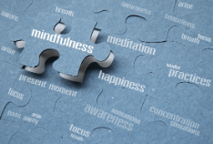 Mindfulness meditation to to treat and prevent a cold
