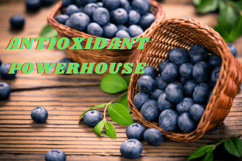 Blueberries Are The Fruit With The Most Antioxidants